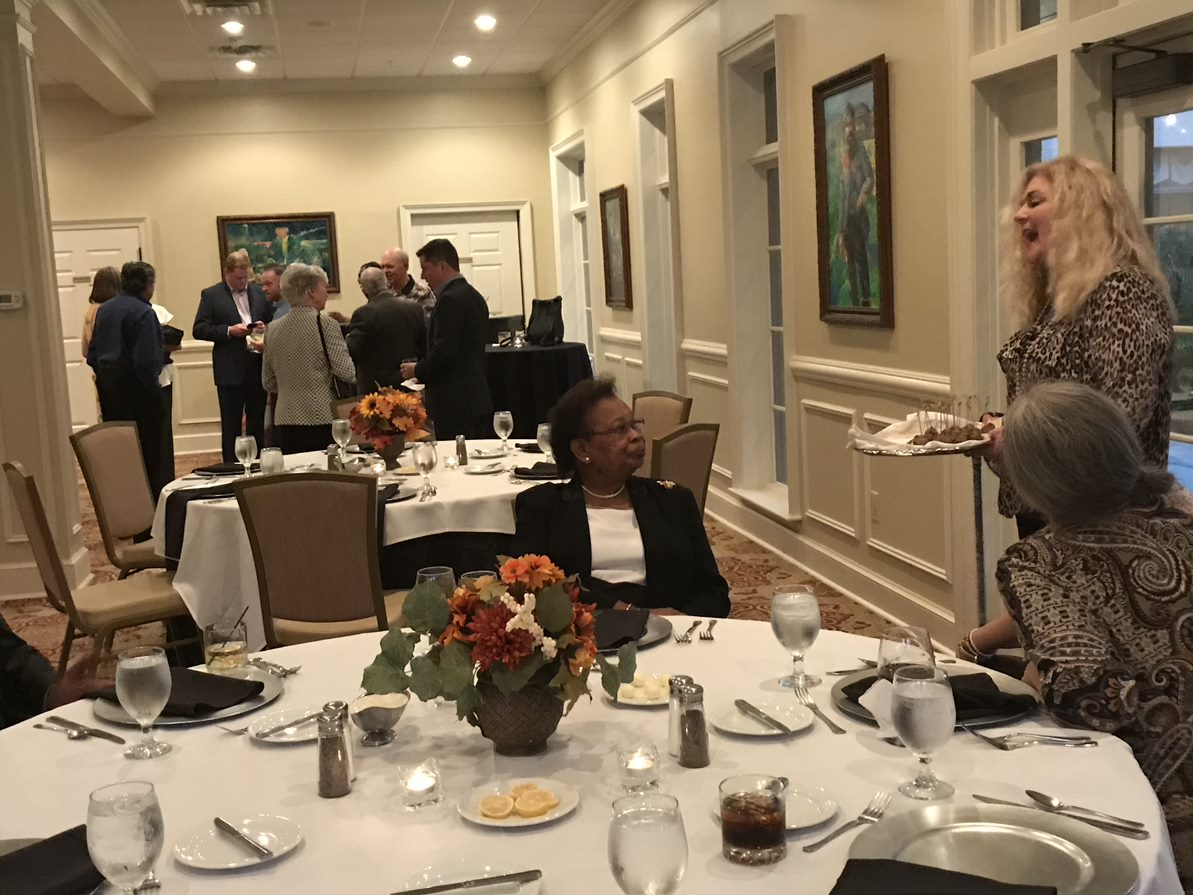 Tables of clients at Oxford's 2019 Client Appreciation Event
