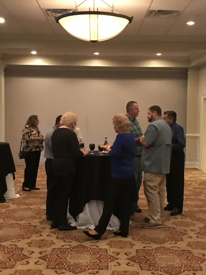 A group of clients at Oxford's Client Appreciation Event